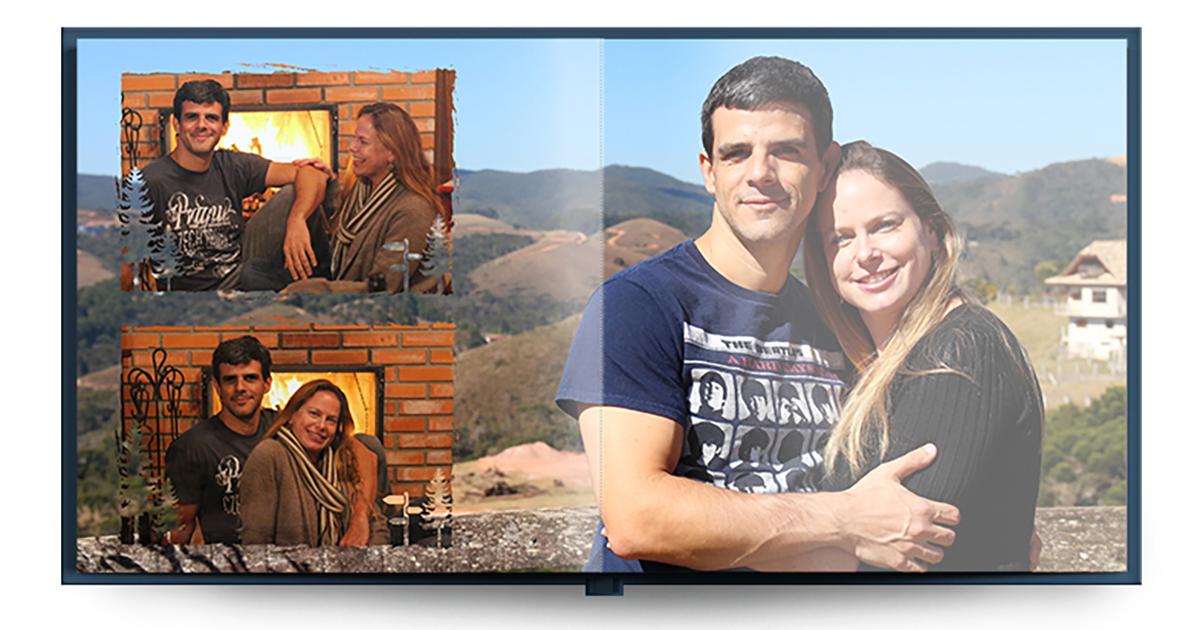 Fotolivro de casamento online dating